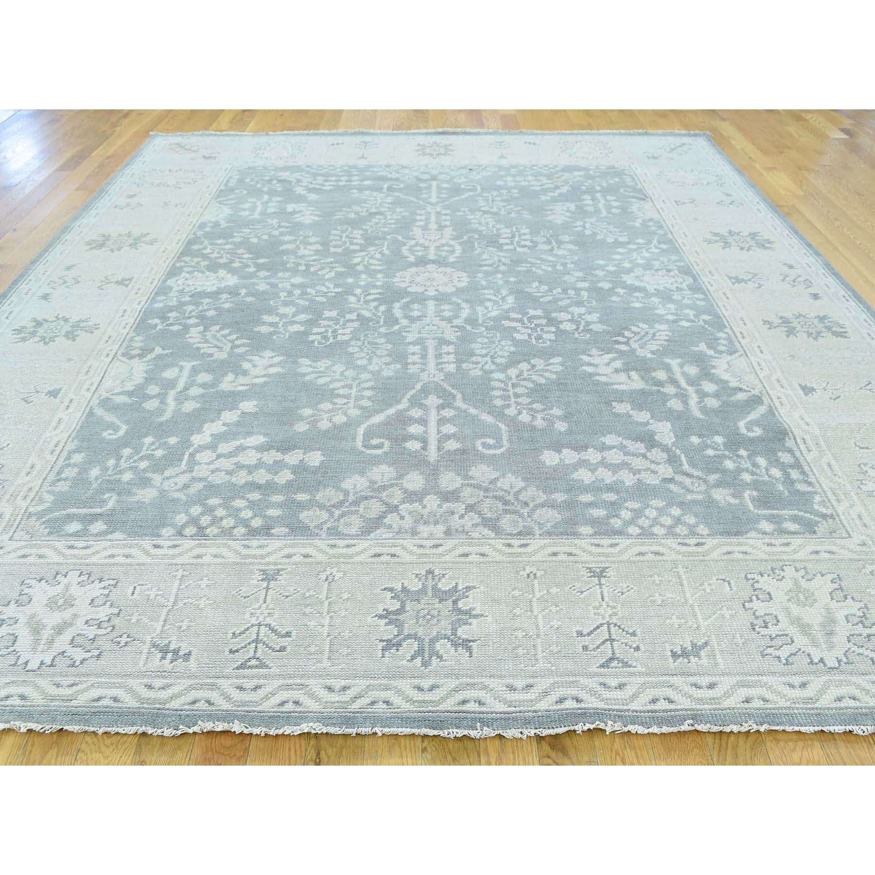 9'x12' Hand Made Turkish Knot Oushak 100 Percent Wool Oriental Rug