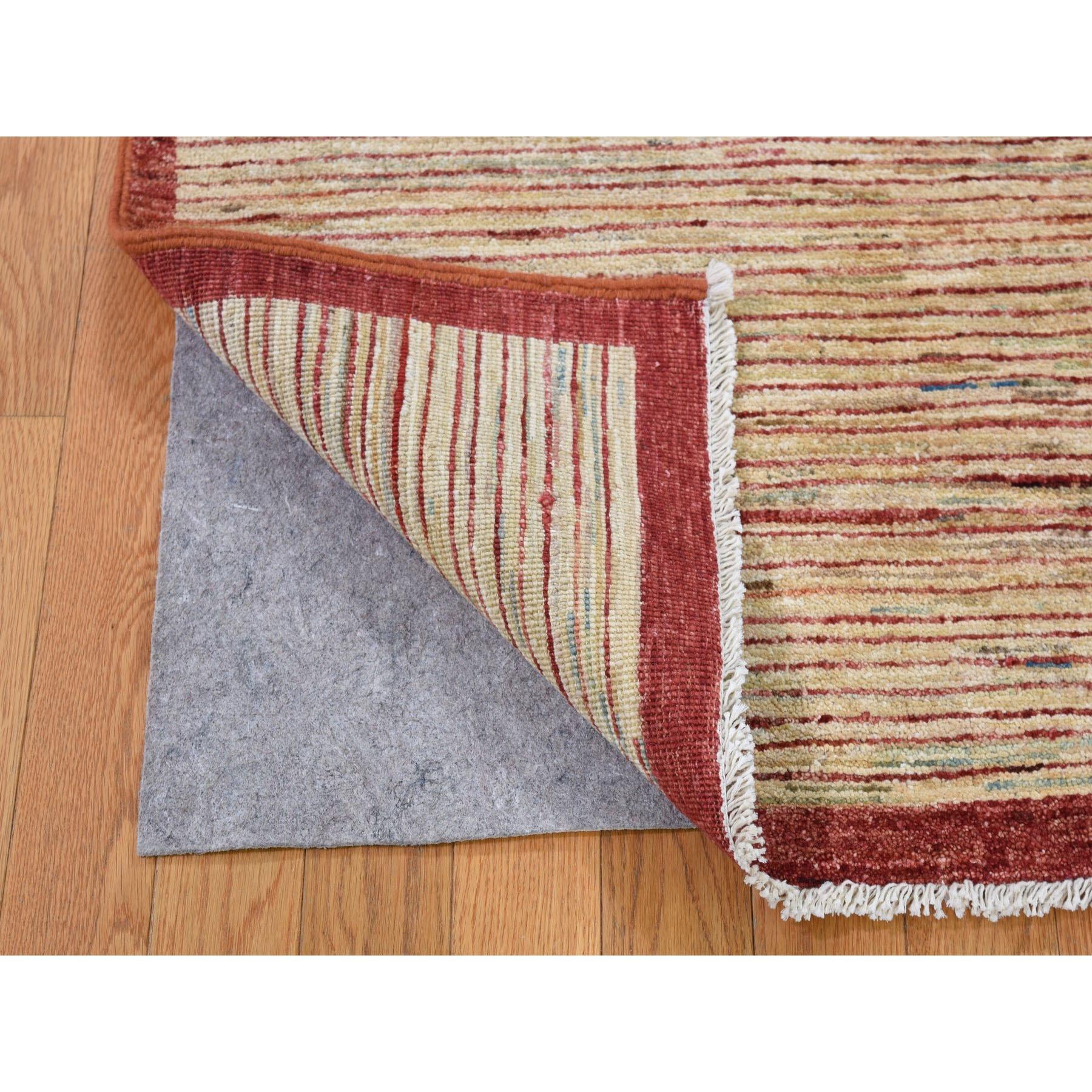 Pure Wool Gabbeh Peshawar Hand Woven