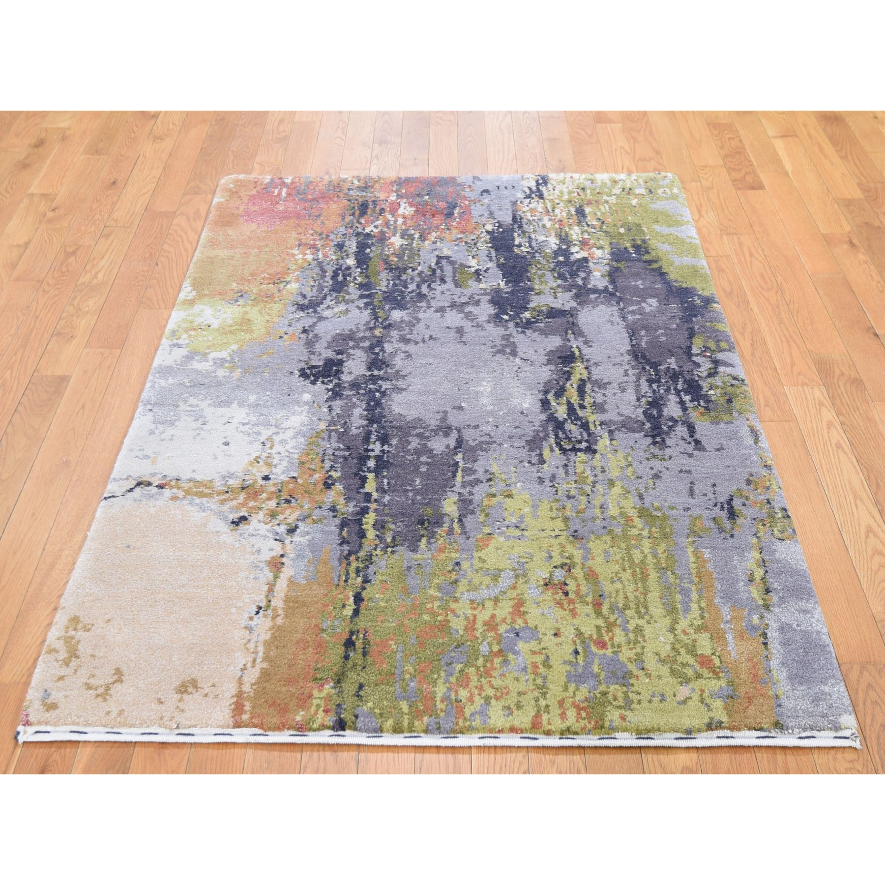 Abstract Design Hand Woven Oriental Rug