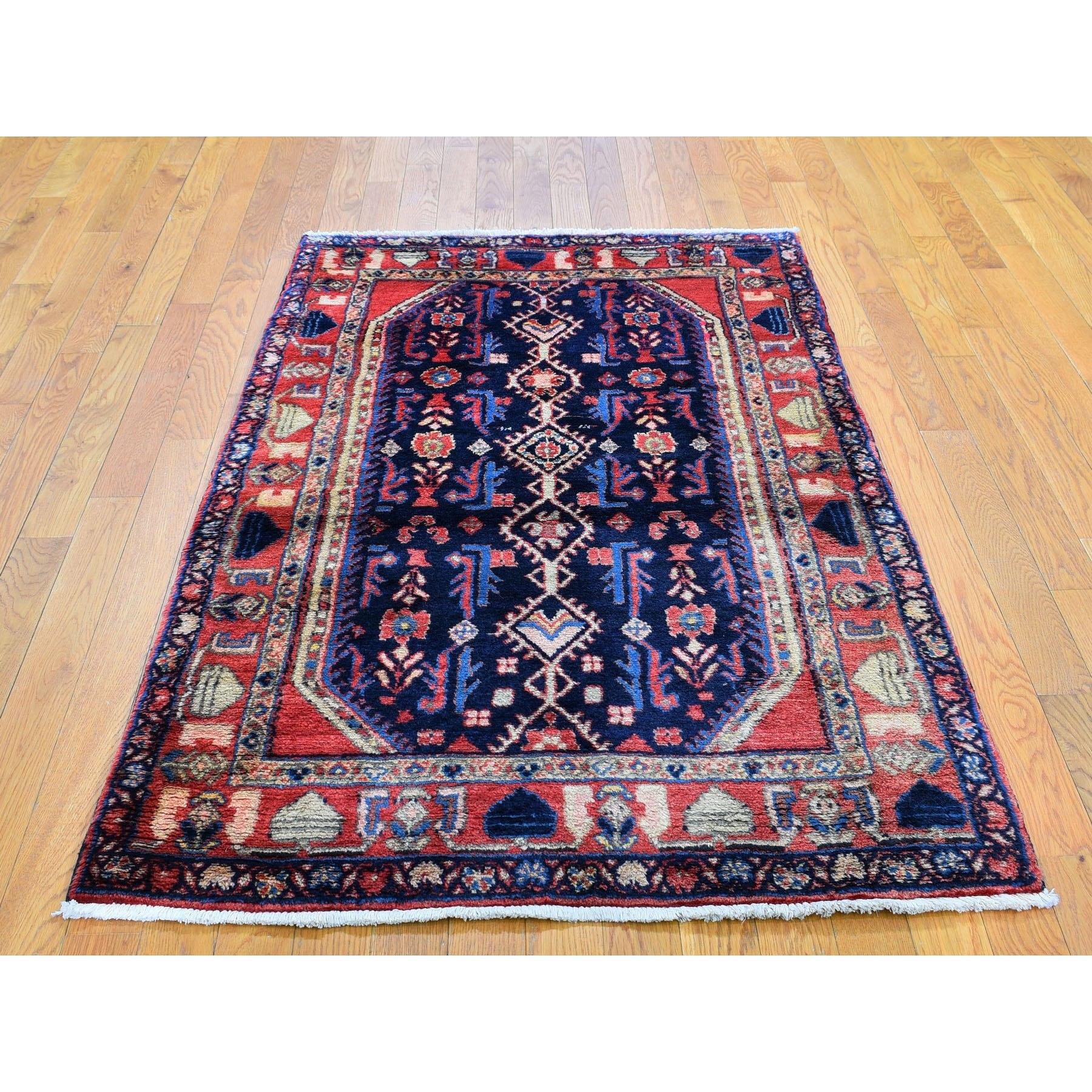 Persian Nahavand Pure Wool Hand Woven