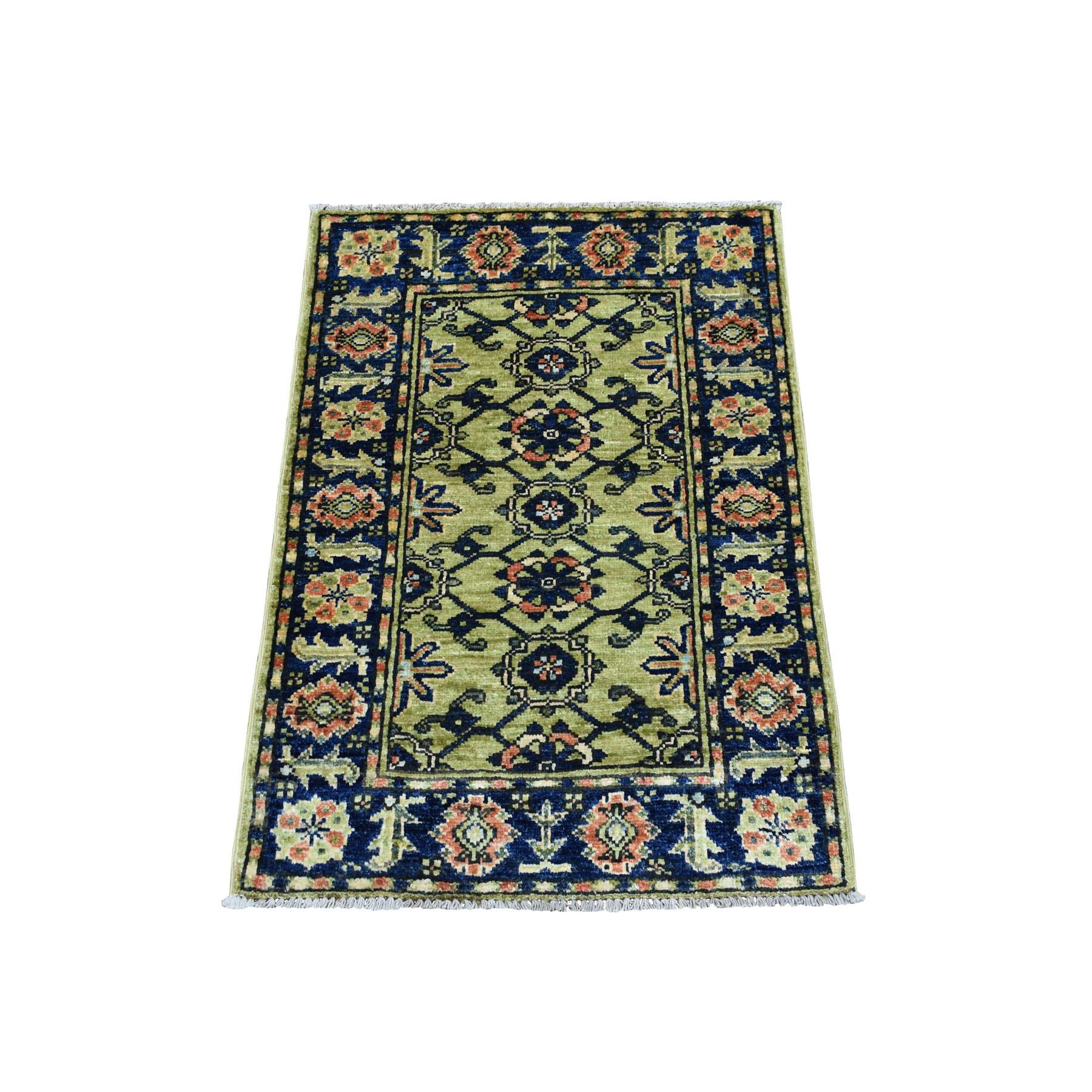 Gold Beige Silk Persian Soft Turkmen Carpet Afghan Rug Runner Small Medium Large