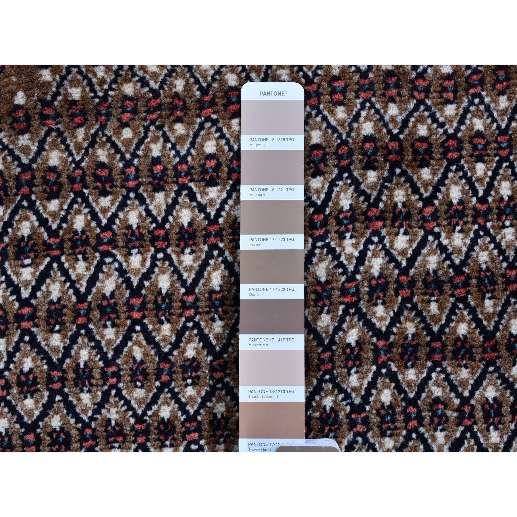 "5'x10'6"" New Persian Camel Hair Hamadan Hand Woven Natural Wool Oriental Rug"